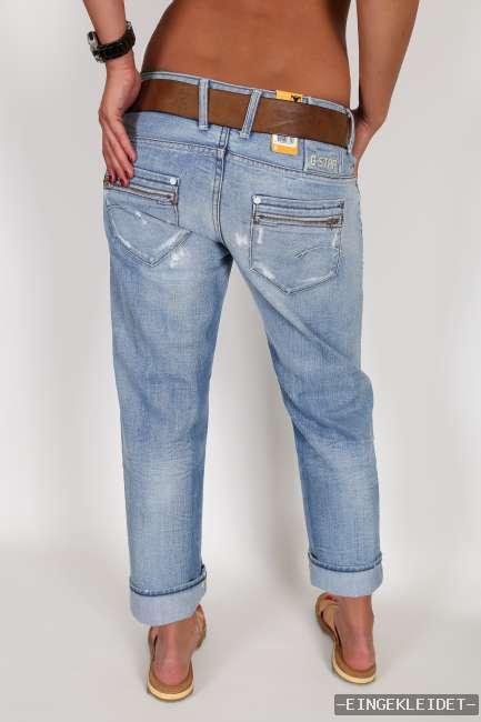 new g star corvet kate tapered 7 8 wmn damen sommer jeans hose w 25 26. Black Bedroom Furniture Sets. Home Design Ideas