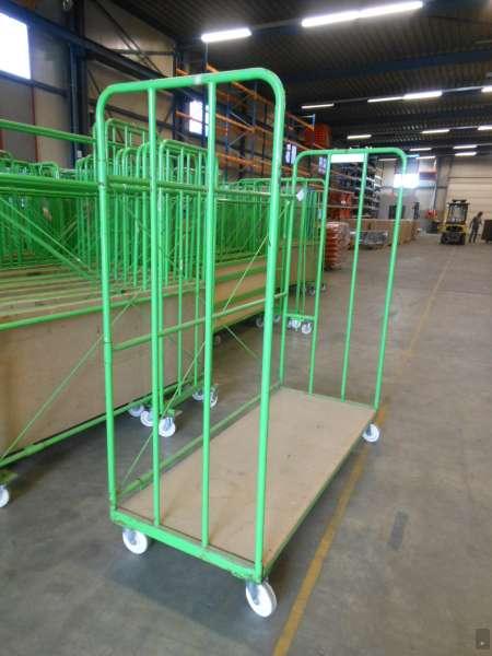 5x messe transportger t transportwagen transportgestell for Koch lagertechnik