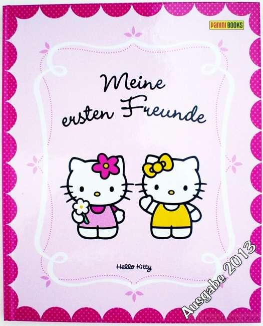 Hello Kitty..Meine ersten Freunde FREUNDEBUCH Schule Kindergarten ...