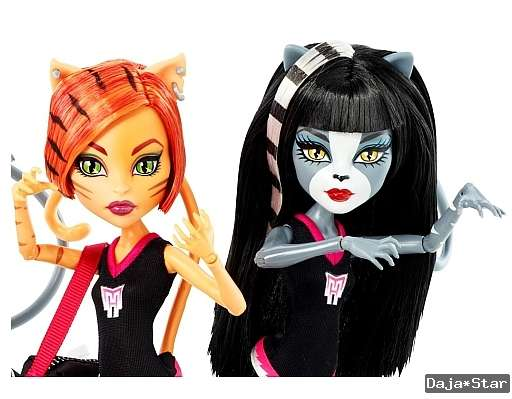 monster high puppen katzen
