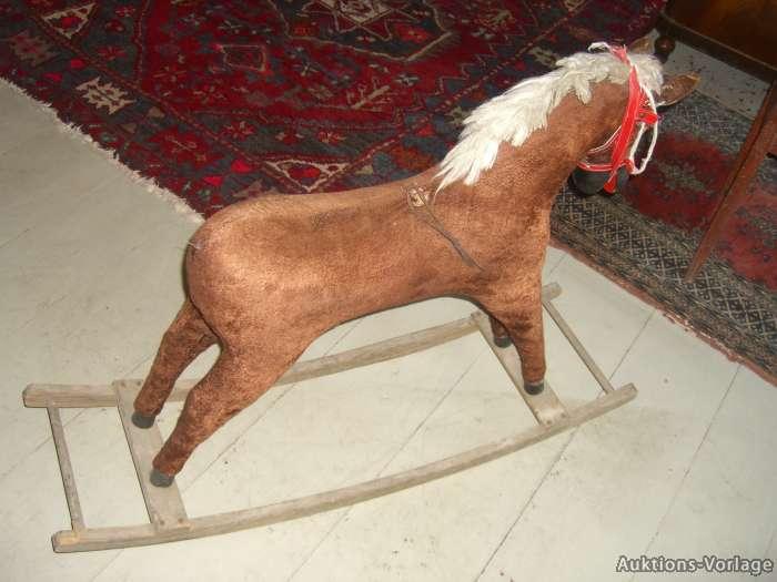 Schaukelpferd Holz Antik Optik – Bvraocom